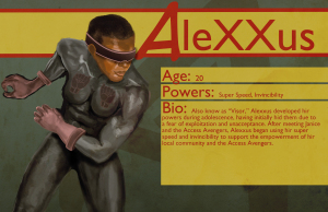 Access Avenger Alexxus/Visor