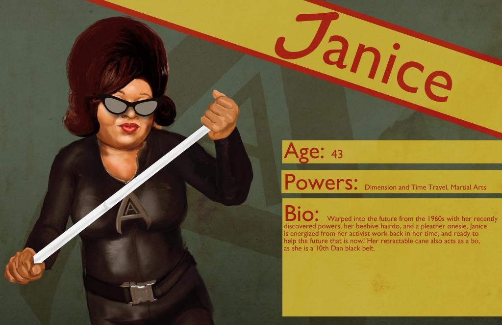 Access Avenger Janice